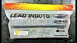 Lead Ingots from Do-It Molds