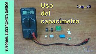Tutorial #electronica basica. Cap 20. El Capacimetro