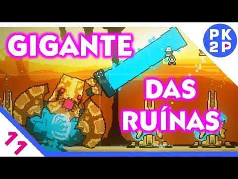 Roguelands: Chefe GIGANTE nas Ruínas! Deu Ruim? #11