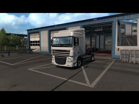 Euro Truck Simulator 2!!! Покупка нового DAF и прицеп WIELTON