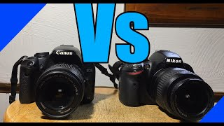 canon 500d vs Nikon d3200  and…