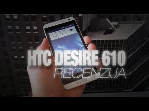 HTC Desire 610 video recenzija
