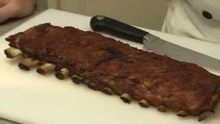 Memphis Style Smoked Spare Ribs