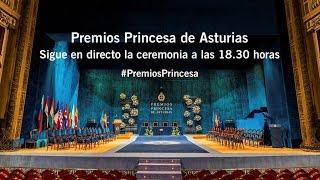 Ceremonia de entrega de los Premios Princesa de Asturias 2015
