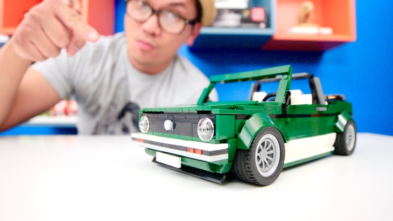 Lego 10242 Alternative Build Part 1 Volkswagen Mk1 Cabriolet Youtube