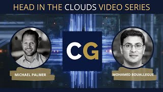 Mohamed Bouallegue, CTO at Cinemarket. Head in the Clouds series hosted by Citrus Global.