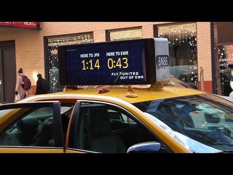 United Taxi Tops: EWR Vs JFK