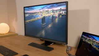BenQ EW3270U Monitor im Test - 4K HDR zum Bestpreis?