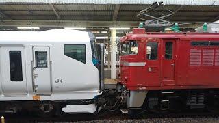 e257系2000番台NA6AT出場配給 大宮発車