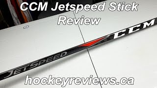 CCM Jetspeed Hockey Stick Review, Soft Blade with Durability Concerns