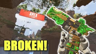 we broke apex legends again by going inside apex legends.. in apex legends...