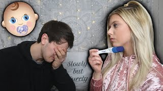 IM PREGNANT PRANK ON BOYFRIEND!! *Emotional*