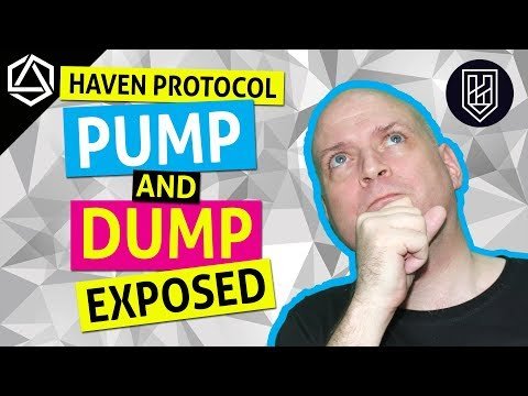 Haven Protocol (XHV) Pump and Dump Scheme Exposed!