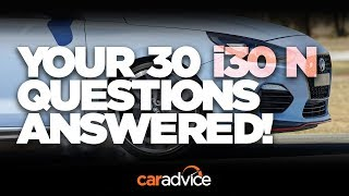 2018 Hyundai i30 N: Your questions answered!
