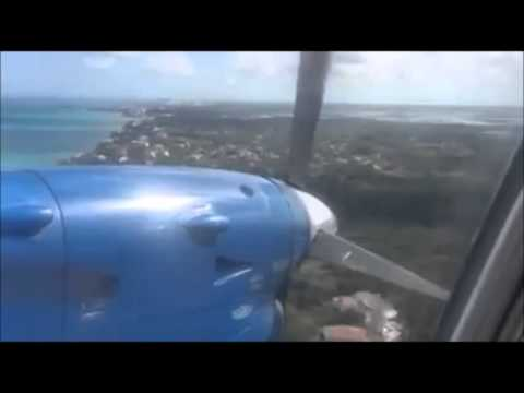 PLANE ENGINE FAILS: Sky Bahamas