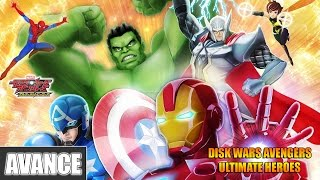 Vídeo-avance/Preview | Disk Wars Avengers: Ultimate Heroes, 3DS recibe a Los Vengadores nipones