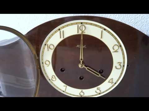Kienzle Westminster mantel mantle Clock (Junghans Hermle Mauthe era)