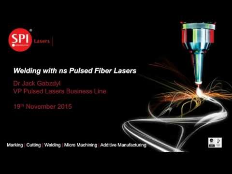 Welding with ns Pulsed Fiber Lasers - Jack Gabzdyl VP Pulsed Business Line