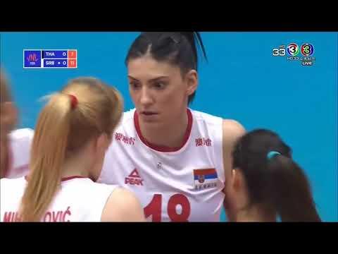 HD Thailand Vs Serbia   ไทย Vs เซอร์เบีย VOLLEYBALL NATION LEAGUE 2018
