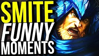 40% COOLDOWN REDUCTION ULLR IS OP! (Smite Funny Moments)