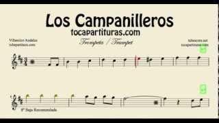 Los Campanilleros Sheet Music for Trumpet and Flugelhorn