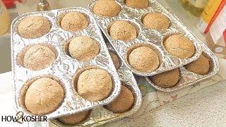 How To Bake Pinkus Passover Rolls (gebrochts) [hd] איך לאפות לחמניות כשר לפסח - געבראכטס