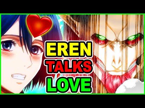 Does Eren Love Mikasa? Eren's Love Talk | Attack on Titan Chapter 130 Review