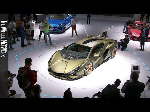 Lamborghini Sián FKP 37 at the 2019 Frankfurt Motor Show – Reveal and Inteviews