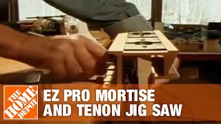 General Tools Ez Pro Mortise And Tenon Jig Saw - The Home Depot