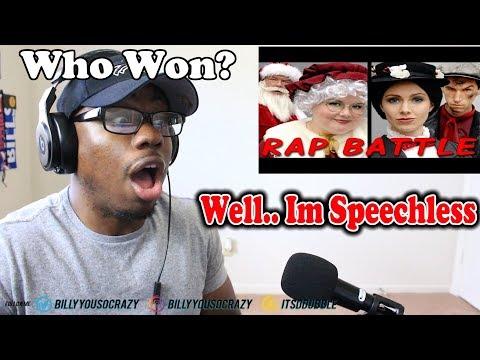 MRS CLAUS vs MARY POPPINS (Princess Rap Battle) REACTION! MRS CLAUS TALKIN BIG BANK LMAO