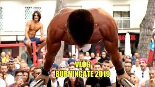 WYJAZD NA BURNINGATE 2019 (arcyvlog) *STREET WORKOUT*