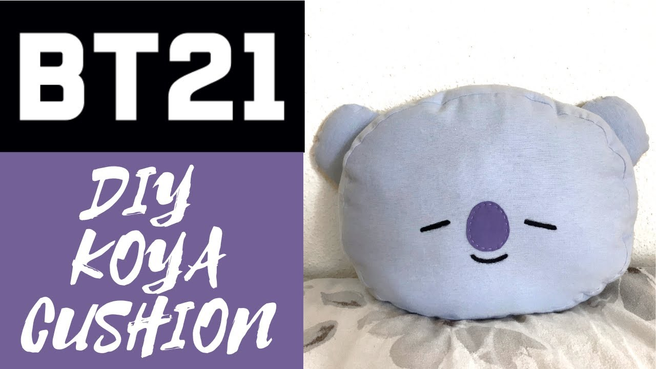 bt21 diy koya cushion