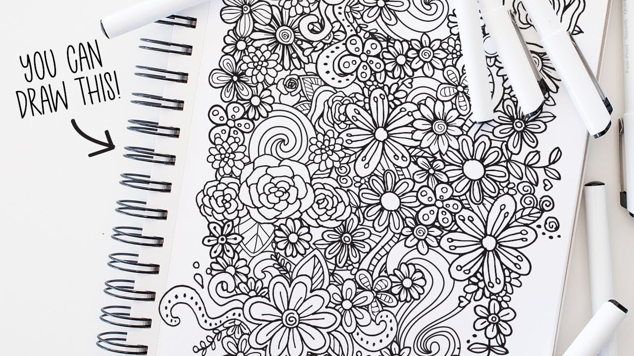 Drawing Prompts for Artist Block EASY Doodle Ideas that ANYONE ...