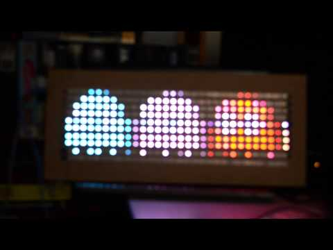 Overview DIY LED Video Wall Adafruit Learning System