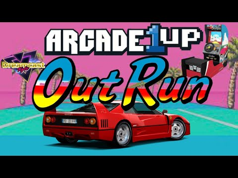 Arcade1Up: OUTRUN REVIEW from Dreamcast Kyle