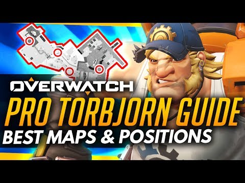Overwatch   Ultimate TORBJORN Guide - Best Maps and Turret Position ft Desrow