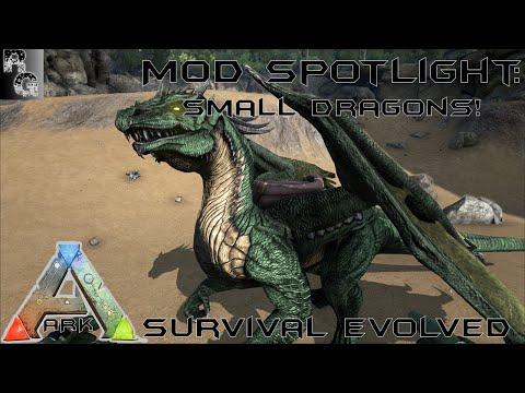 Ark: Survival Evolved ➤ Small Dragon Spot Light