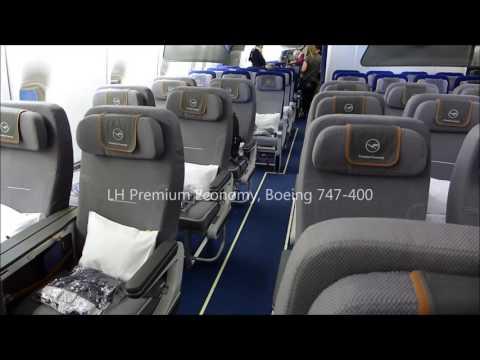 Lufthansa Premium Economy DXB-FRA (March 2016)