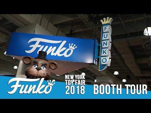 Toy Fair New York: Funko Booth Tour!