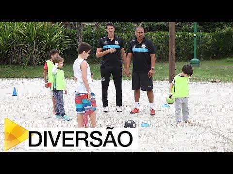 Santos FC promove clínica para crianças no Sofitel Jequitimar