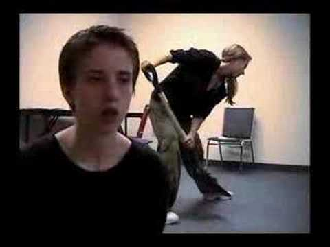 Ginger Snaps the rehearsals