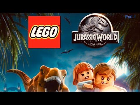 Lego Jurassic world game Part1 |