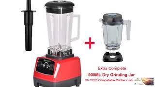 Commerical Blender 2200W 2L BPA FREE Professional Smoothies Power Blender Food Mixer FREE SHIPPING!
