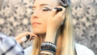 Glam Rock Makeup Tutorial / Урок макияжа