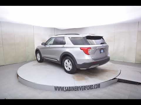 2020 Silver Ford Explorer 4D Sport Utility #T7692