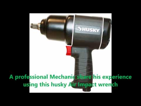 Husky Air Impact Wrench. 650 Ft/Lbs of Torque!