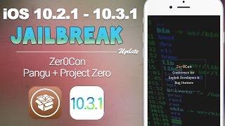 iOS 10.2.1 - 10.3.1 Jailbreak Update: Zer0Con Event, Pangu, Downgrade | iOS 10 Jailbreak Update #24