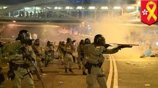 Полиция Гонконга использовала резиновые пули?(, 2014-09-30T16:52:42.000Z)