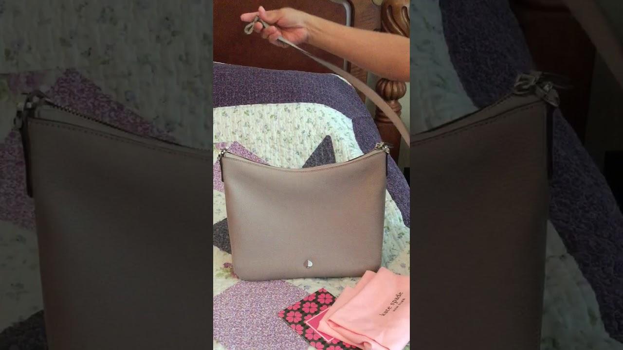 Kate Spade Polly Medium Convertible Shoulder Bag Youtube