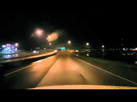 BigRigTravels LIVE-West Memphis to North Little Rock, Arkansas I-40 Sat Apr 30 04:32:49 CDT 2016